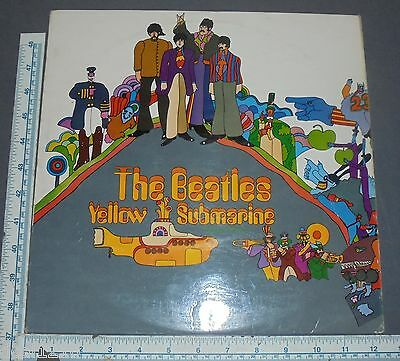 "The Beatles ""yellow Submarine"" Rare Import Uk Apple Pcs 7070 Lp Red Line"
