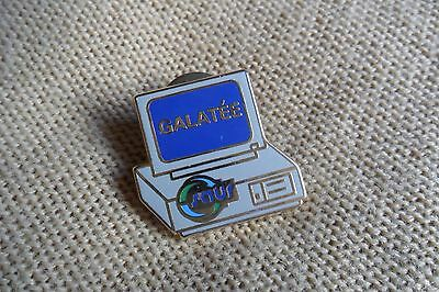 GALATEE french? computer pin label badge