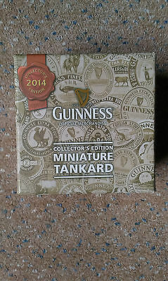 Guinness Collectors Edition 2014 Miniature Tankard