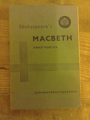 Shakespeare's Macbeth.A Play.The Oxford and Cambridge Edition.