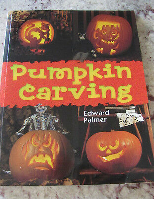 Pumpkin Carving Book Edward Palmer 96 Pages With Stencils