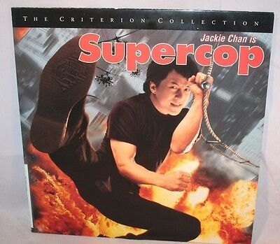 Laserdisc [s] * Supercop * Jackie Chan Michelle Yeoh Criterion Collection