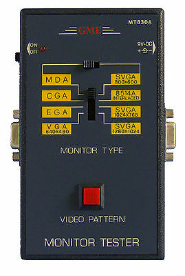 Brand New! GME MT830A Computer Monitor Tester Video Pattern Generator