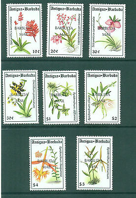 Barbuda 1994 Island Orchids sets of 8 SG1548-1555 MNH