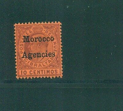 Morocco Agencies 1903 10c KEVII Mint SG 18