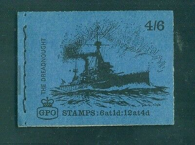 Great Britain 4s6d The Dreadnought Battleship Ship July 1969 Booklet LP52