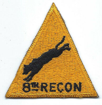 8th Recon Theatre Made Pocket Patch