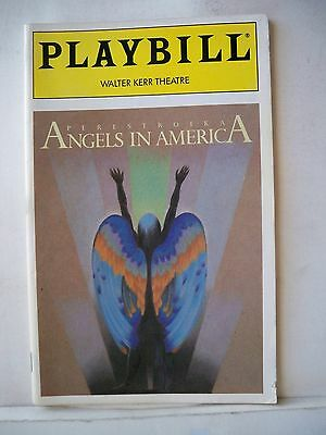 ANGELS IN AMERICA: PERESTROIKA Playbill RON LEIBMAN Opening Night NYC 1993