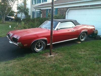 1970 Mercury Cougar XR7 1970 mercury cougar XR7 convertible 351 cleveland not 1969 1968 ford mustang gt