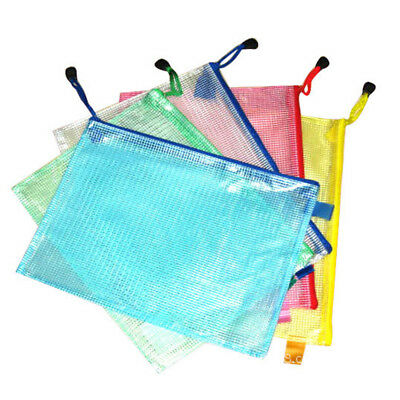 A3 Plastic Zippy Bags Zip Protective Wallet Sleeve  File Storage Document Folder