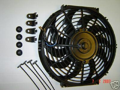 """Thermo Fan 12""""inch 24 volt 24V Electric Cooling Fan f"""