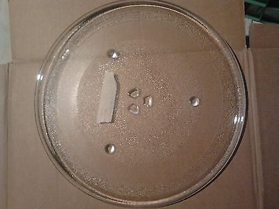 345mm Glass Microwave Turntable/ Plate Sanyo EM - S2587W   3 Way Driven