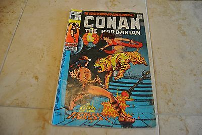 CONAN THE BARBARIAN # 5 May 1971 Issue Barry Smith Marvel Comics