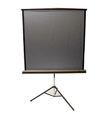 "DA-LITE Silver Pacer Portable Projection Screen 50x50"" with Tripod Base"