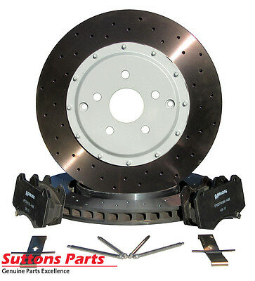 New Genuine Hsv Vf Ap Racing 6 Piston Rear Rotor And Pads Kit Part Spz300314