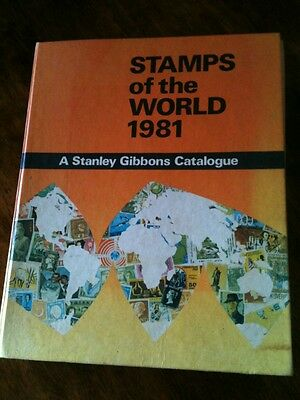 Stamps of the World 1981, Stanley Gibbons Catalogue H/C w/images