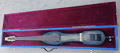 1/2 size Electric Upright Bass Custom Made with Hard Case.