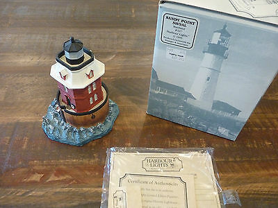 Harbour Lights 1995 Sandy Point Shoal Maryland Lighthouse #167 - New With Box