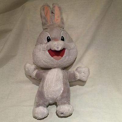 """Baby Bugs Bunny Six Flags Exclusive 16.5"""" Tall Stuffed Plush Doll Free S/h"""