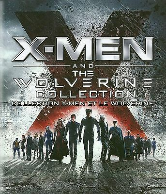 X-Men and The Wolverine Collection (X-Men / X2 / X-Men 3: The Last Stand / X-...
