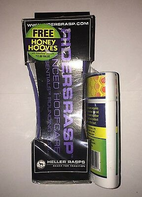 New/Sealed- Riders Rasp Hoof Care- w/ FREE Honey Hooves Conditioner