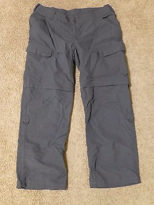 (14) The North Face Women's PARAMOUNT PEAK CONVERTIBLE Pant in Gray