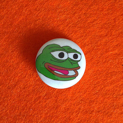 Pepe The Frog Internet Meme Pin Button Badge 1inch/25mm