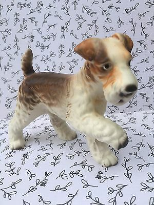 Vintage Airedale Terrier Dog Figurine A589