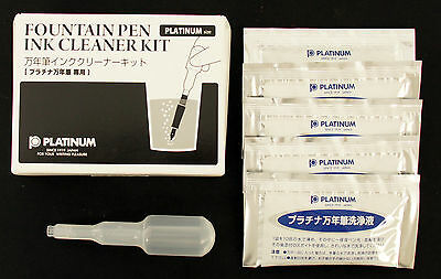 Platinum ICL-1200 Fountain Pen Ink Cleaner Kit (For Platinum Fountain Pen)