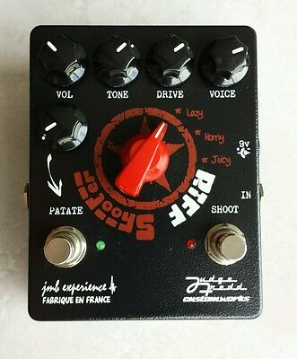 Riff Shooter ( overdrive / boost ) made in France jmb experience / judge fredd