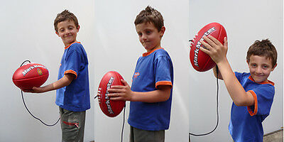 AFL Football Size 2, Age 5- 12 years, Fantastic Training Ball, NEW slight mark