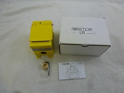 Rsg Rms-Ex-Wp Fire Alarm Explosion Proof Yellow Manual Pull Station New Nib