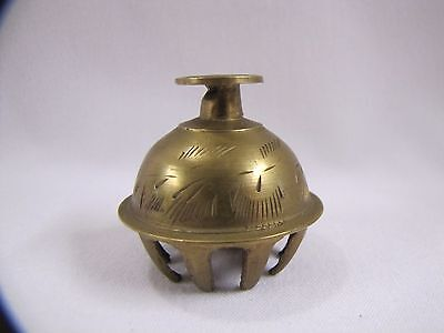 Vintage Chinese Brass Bell Small