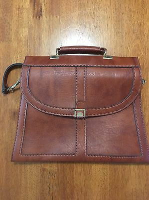 Brown Hilmar 1960s / 1970s Made In England Bag - Faux Leather