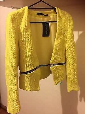 Women's  Blazer Suits Yellow Office Party Casual Wear