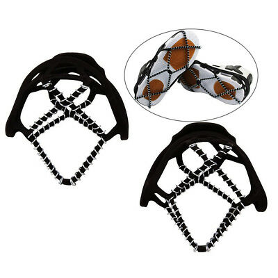 Non Slip Crampons Ice Grips Steel Coils Ice Cleat Shoes Spikes Shoes Boots Cover