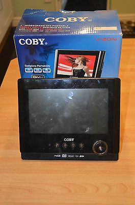 Coby TFT Portable DVD Player **BOXED**