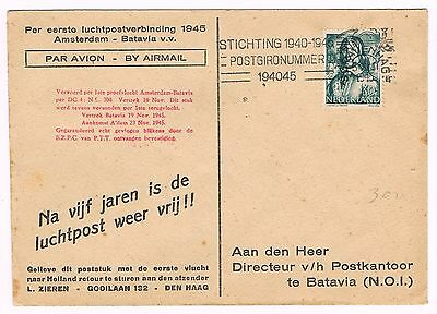 Netherlands Cover - 1945 - Opened By Censor - Proclaiming Freedom Of Postage