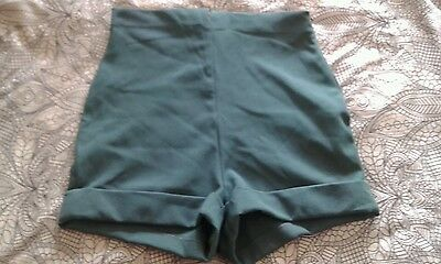 Vintage rockabilly pinup retro Romeo Gigli 40s 90s high waisted shorts