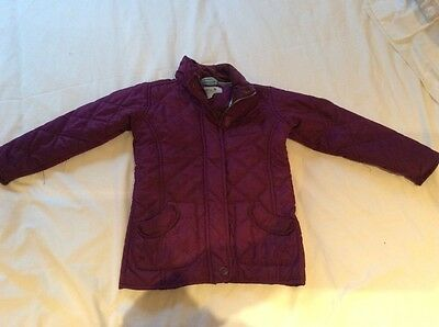 girls quilted jacket age3-4