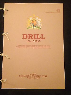 British Army Drill Manual Pamphlet Handbook Guards  Trooping The Colour