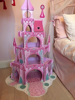 Early Learning Centre Wooden Pink Castle