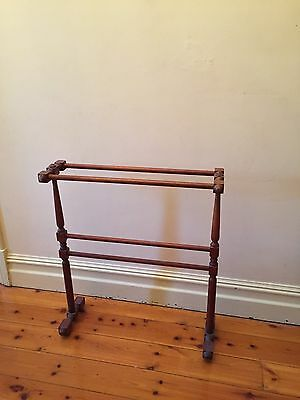 Vintage Timber Clothes Horse/ Towel Rack