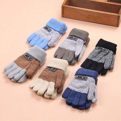 New Child Kids Baby Girls Boys Toddler Winter Warm Thick Gloves Magic Mittens UK