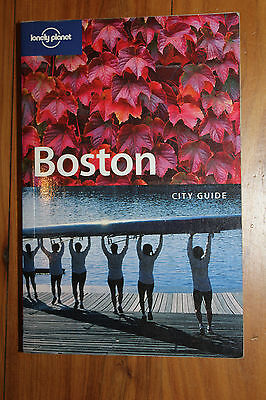 Lonely Planet Boston city travel guide 3rd edition.