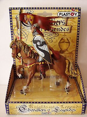 Plastoy (France) 'william The Conqueror' On Horse With Flag