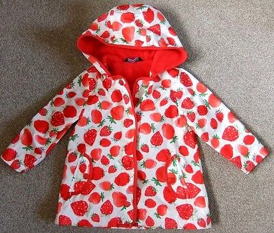 George Girls 18 mths-2ys Fleece lined Shower Jacket Excellent Condition