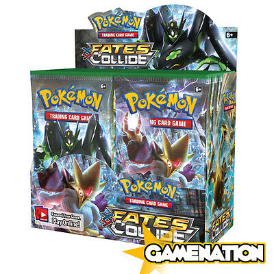 Pokemon Trading Card Game: Fates Collide Booster Box (includes 36 Booster Packs)