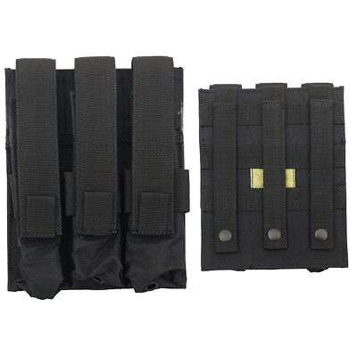 Triple Magazine Pouch Fields Airsoft Mp 5 Mag Various Camo Evo Scorpion Mags