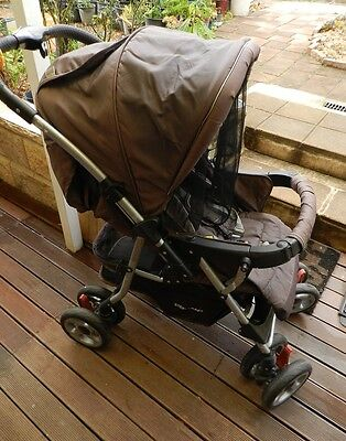 Steelcraft ACCLAIM Baby Stroller with mesh cover great condition!